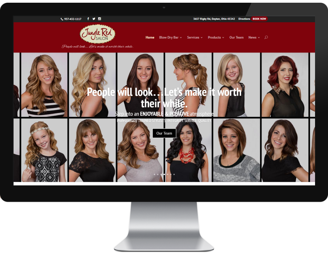 salon-website