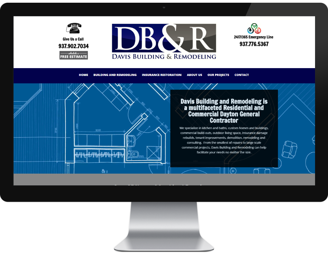 Websites affordable small business websites in dayton ohio for Best home remodeling websites